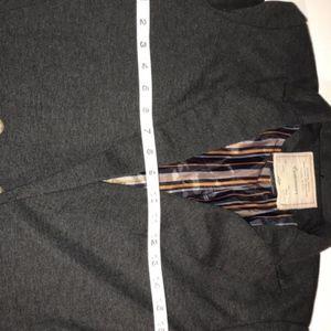 Anthropologie Jackets & Coats - Anthropologie Cartonnier Grey Med Women Blazer